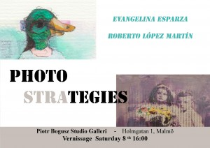"On Saturday August 8th, from 4 pm.""Photostrategies "" by Evangelina Esparza and Roberto López"
