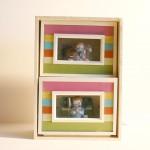 Espejos y espejismos_ caja de luz _40x 20x15cm